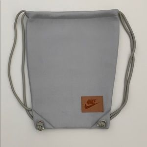 NEW! Nike Drawstring Bag with Nike Patch!!!